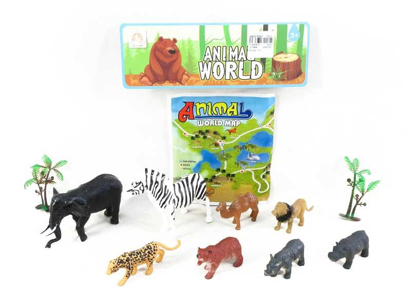Animal Set(8in1) toys