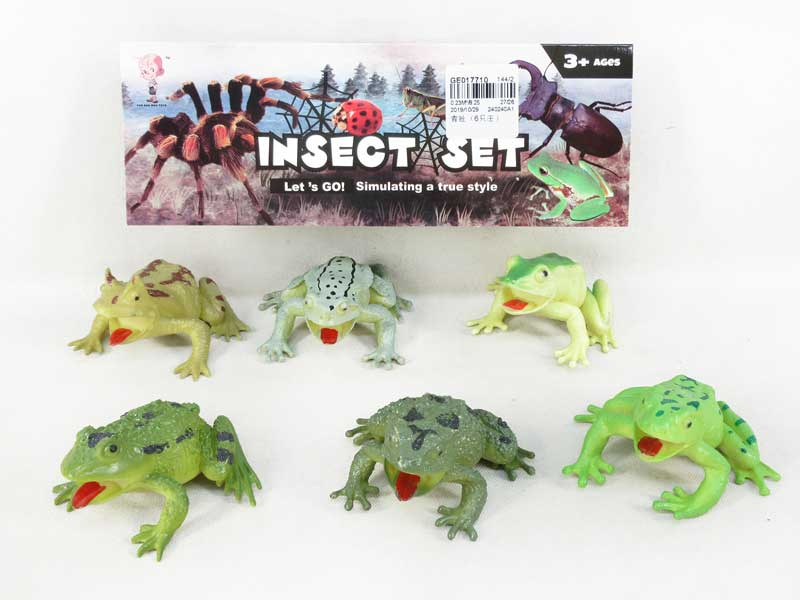 Frog(6in1) toys