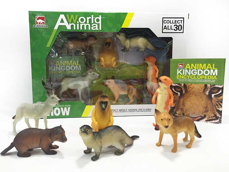 Animal Set(6in1) toys