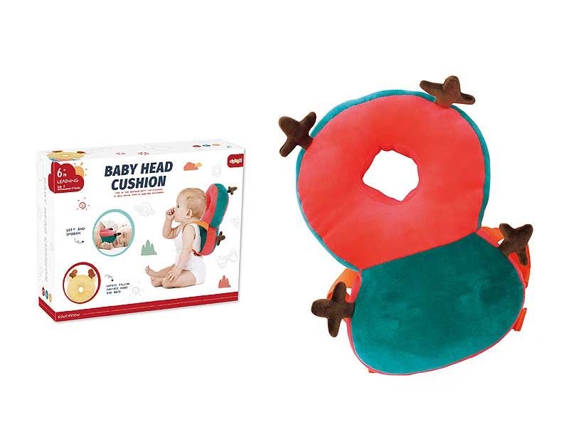 Anti fall pillow Christmas design soft and good quality baby products toys