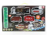 B/O Smoking Train Set W/L_M