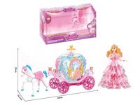 B/O Carriage W/L_M & Doll