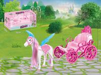 B/O Carriage W/M toys