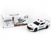 B/O universal Transforms Police Car W/L_M toys