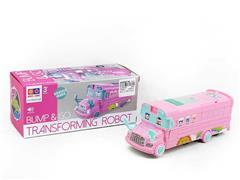 B/O universal Transforms School Bus toys