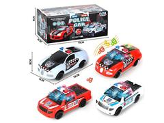 B/O Police Car W/L_M(2S2C) toys