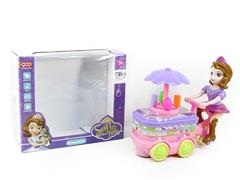B/O universal Ice Cream Car W/L toys