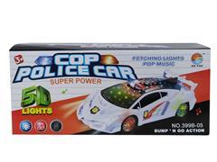 B/O Police Car W/L_M