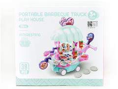 B/O universal Barbecue Car W/L_M toys