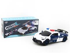B/O universal Police Car W/L_M toys