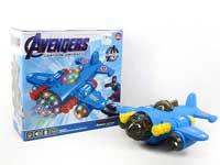 B/O universal Airplane W/L_M(2S) toys