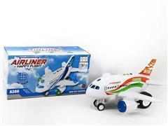 B/O Airplane W/L_M(2C) toys