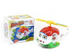 B/O Cartoon Plane W/L(2C) toys