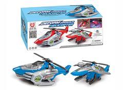 B/O universal Transforms Airplane W/L_M(2C) toys