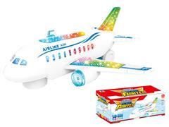 B/O universal Airplane W/L toys