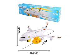 B/O Airplane W/L_M toys