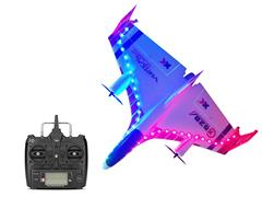 Night Version R/C Stunt Plane 6Ways toys
