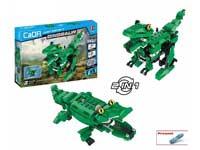 B/O Tyrannosaurus & Crocodile toys