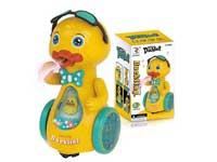 B/O universal Spray Duck W/L_M toys