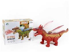 B/O Spray Dragon W/L_S toys