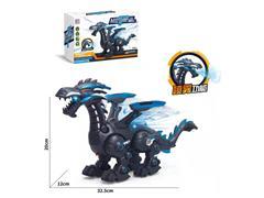 B/O Spray Flying Dragon W/L_S toys
