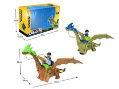 B/O universal Winding Dragon W/L_(2C) toys