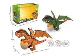 B/O universal Tyrannosaurus Rex W/L_M(2C) toys