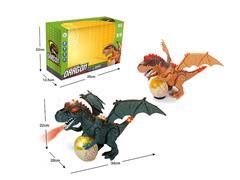 B/O universal Spray Tyrannosaurus W/L_M(2C) toys