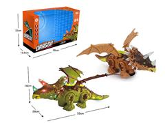 B/O universal Triceratops W/L_M(2C) toys