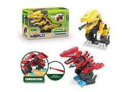 B/O Diy Tyrannosaurus Rex W/S(2C) toys