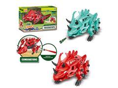 B/O Diy Triceratops W/S(2C) toys