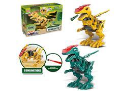 B/O Diy Velociraptor W/S(2C) toys