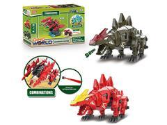 B/O Diy Stegosaurus W/S(2C) toys