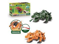 B/O Diy Lizard Dragon W/S(2C) toys