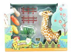B/O Giraffe Set toys