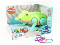 B/O Frog W/L_M(2C) toys