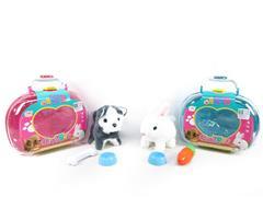 B/O Dog & Rabbit(2S) toys