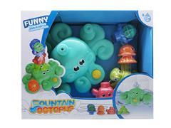B/O Fountain Octopus toys