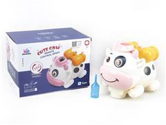 B/O universal Spray Cow toys