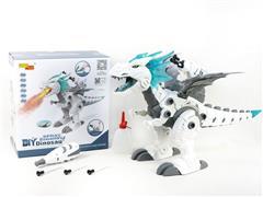B/O Diy Spray Dinosaur toys