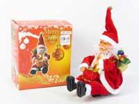 B/O Play The Drum 12inch Santa Claus W/M