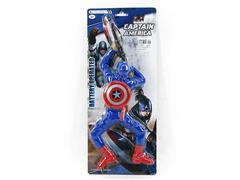 B/O Climber Captain USA toys