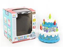B/O universal Cake W/L_M(3C) toys