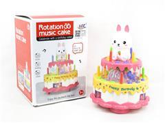 B/O Cake W/L_M toys
