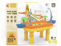 B/O Fishing Game & Slide toys