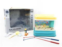 Fishing Aquarium W/M toys