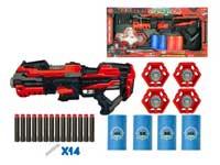 B/O Soft Bullet Gun Set toys