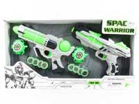 B/O Gun Set W/L(2in1)