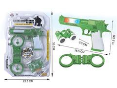 B/O Gun W/S_Infrared toys