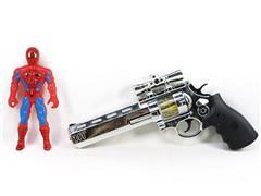 B/O 8 Sound Gun & League Of Heroes toys